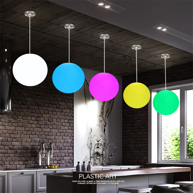 Modern Restaurant LED Pendant Light Creative Bedroom Staircase Aisle bar Coffee Shop Circular Remote control Lamp Free Shipping free shipping remote control colorful modern minimalist led pyramid light of decoration led night lamp for christmas gifts
