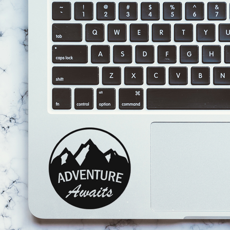 Adventure Laptop Trackpad Decal for Apple MacBook Pro Air Retina 11 12 13 15 inch Vinyl Mac Book Keyboard Touchpad Sticker Skin