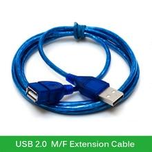 Original Newest USB2 0 Extension Cable 1M 1 5M 2M 3M Copper Male to Female USB