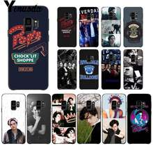 Yinuoda Riverdale Series Cole Sprouse Trendy TPU Soft Black Phone Case for Samsung Galaxy S8 S7 edge S6 edge plus S5 S9plus case(China)