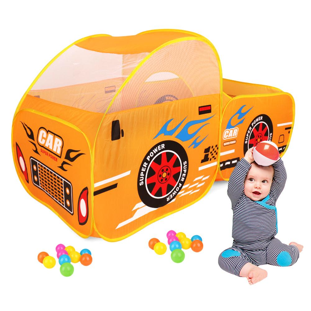 Tente enfant jeu maison voiture modele jeu maison océan piscine a balles
