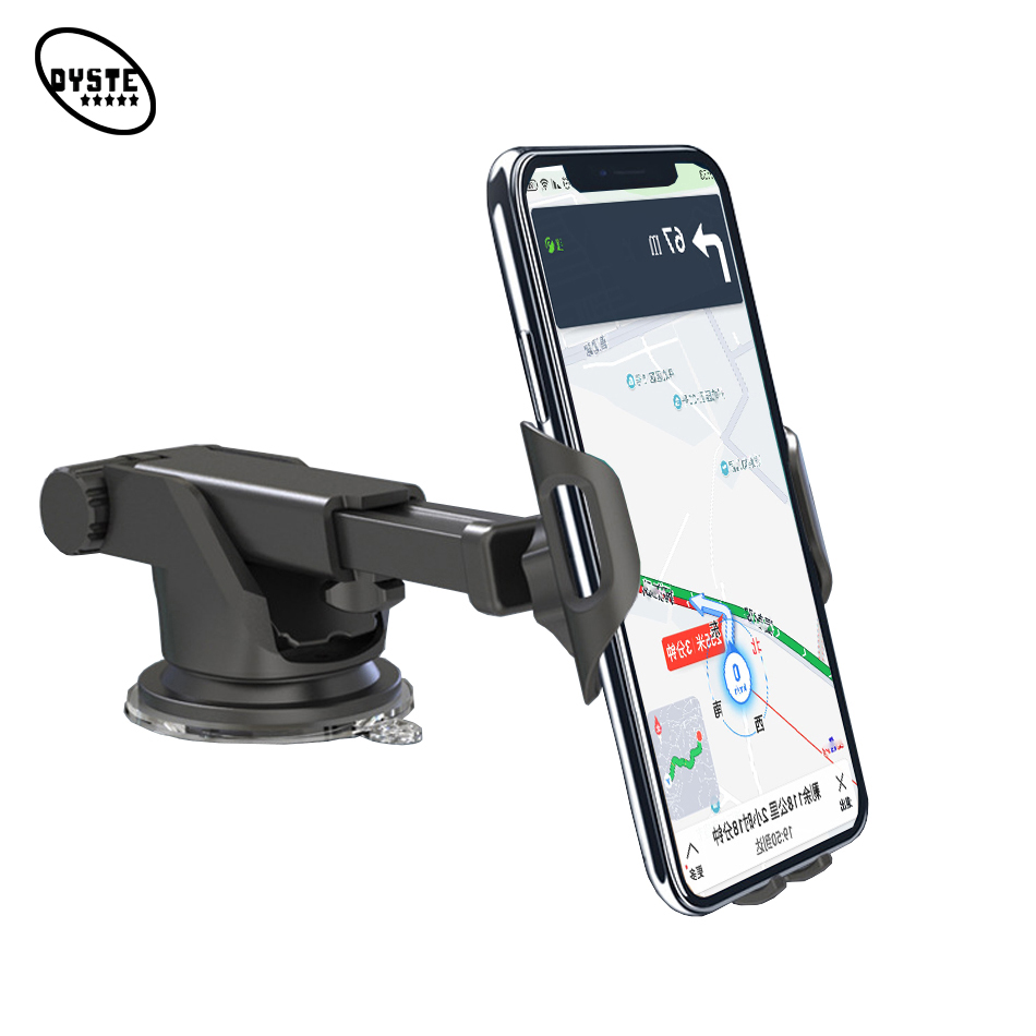 "Auto Telefoon Houder Car Suporte Porta Celular Suction Cup Phone Stand Support Smartphone Voiture Car Phone Clip Holder Mount 6"""