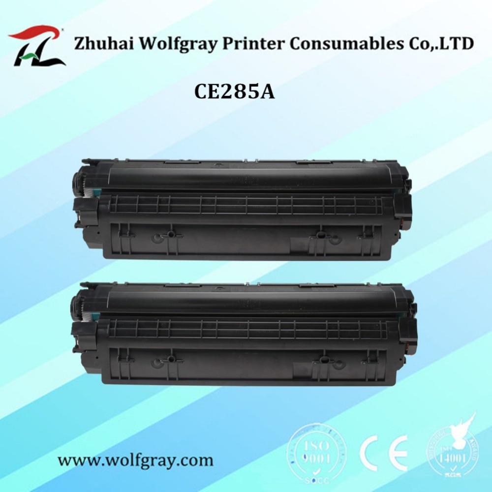 2PK Kartrij toner yang serasi CE285A 85A 285 285a untuk HP Laserjet - Elektronik pejabat