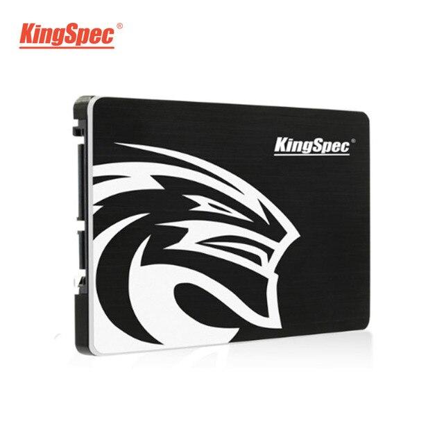 KingSpec SATA SSD 720 GB 2.5 ''SATA III SSD 360 GB 180 GB Đen Chắc Chắn Ổ Cứng cho Máy Tính Xách Tay laptop Máy Tính Để Bàn MacBook Pro 17
