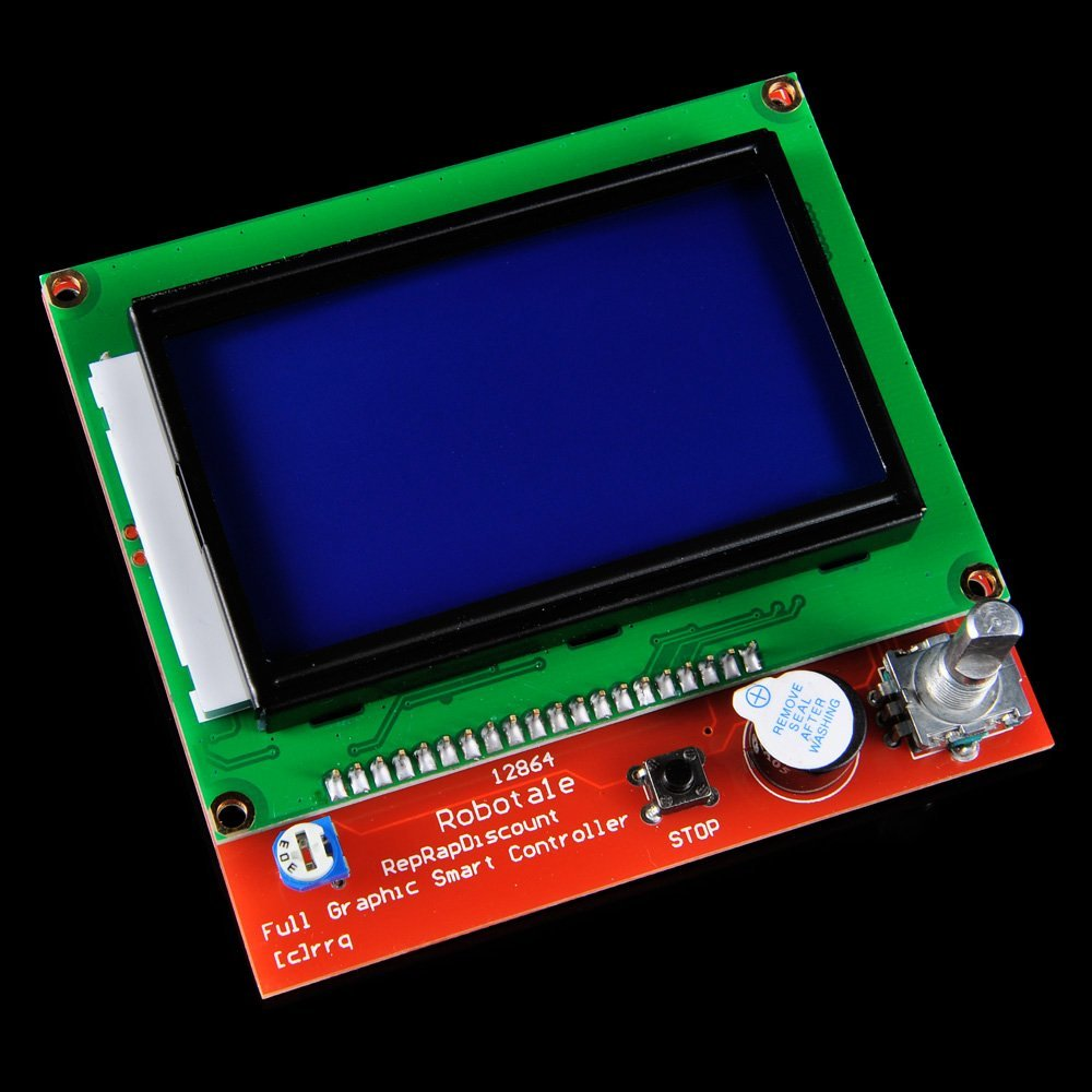 Electronic Components & Supp. ... Optoelectronic Displays ... 32782486673 ... 3 ... New 12864 LCD Ramps Smart Parts RAMPS 1.4 Controller Control Panel LCD 12864 Display Monitor Motherboard Blue Screen Module ...