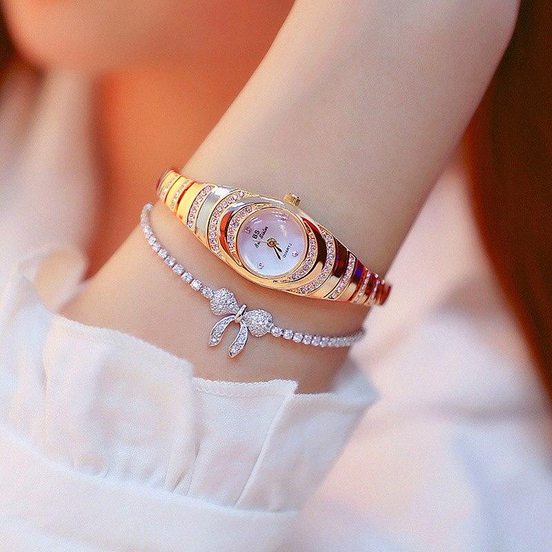 Women Watches Bangle Luxury Top Brand Elegant Dress Quartz Watches Ladies Wristwatch Relogios Femininos montre femme