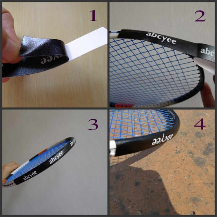 Badminton Racket Sticker Gain Weight Racquets Protective Sticker Avoid Paint-Shedding High Quality L265OLD