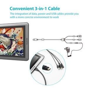 Image 3 - HUION KAMVAS 16 Monitor per Tablet con penna da 15.6 pollici Monitor per disegno grafico digitale Monitor per Display a penna