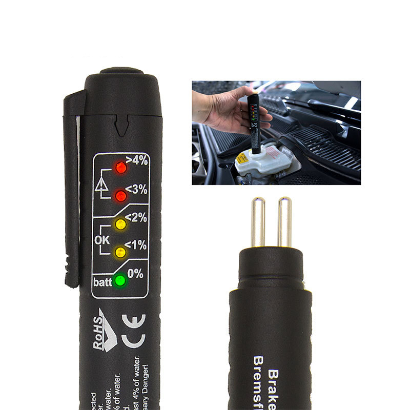 OBD2 Automotivo Brake Fluid Tester Pen for Car Vehicle DOT3/DOT4 Brake Liquid Auto Automotive Testing Tool Car Accessories