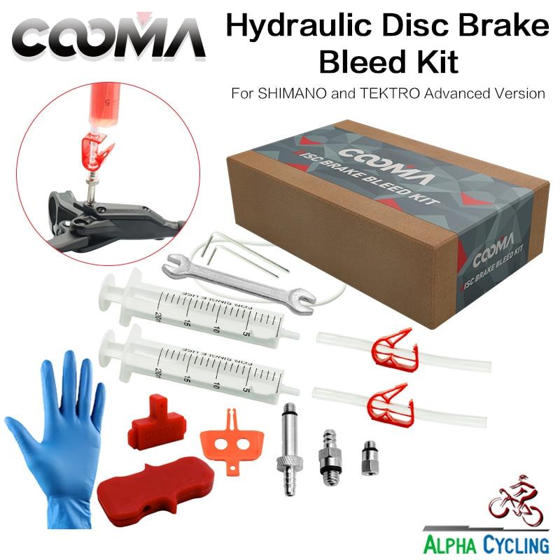Bicycle Hydraulic Brake BLEED KIT for Shimano and Tektro, also for Magura MT Hydraulic Brake, Advanced Tool Kit, V1.5