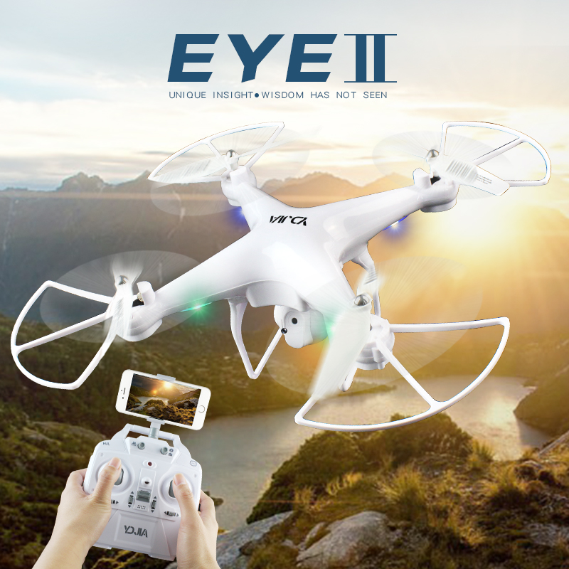 D68 Drone with HD Camera Altitude Hold RC Quadcopter Wifi FPV HD Real-time 2.4G 4CH RC Helicopter RC Dron VS X5C X5SW