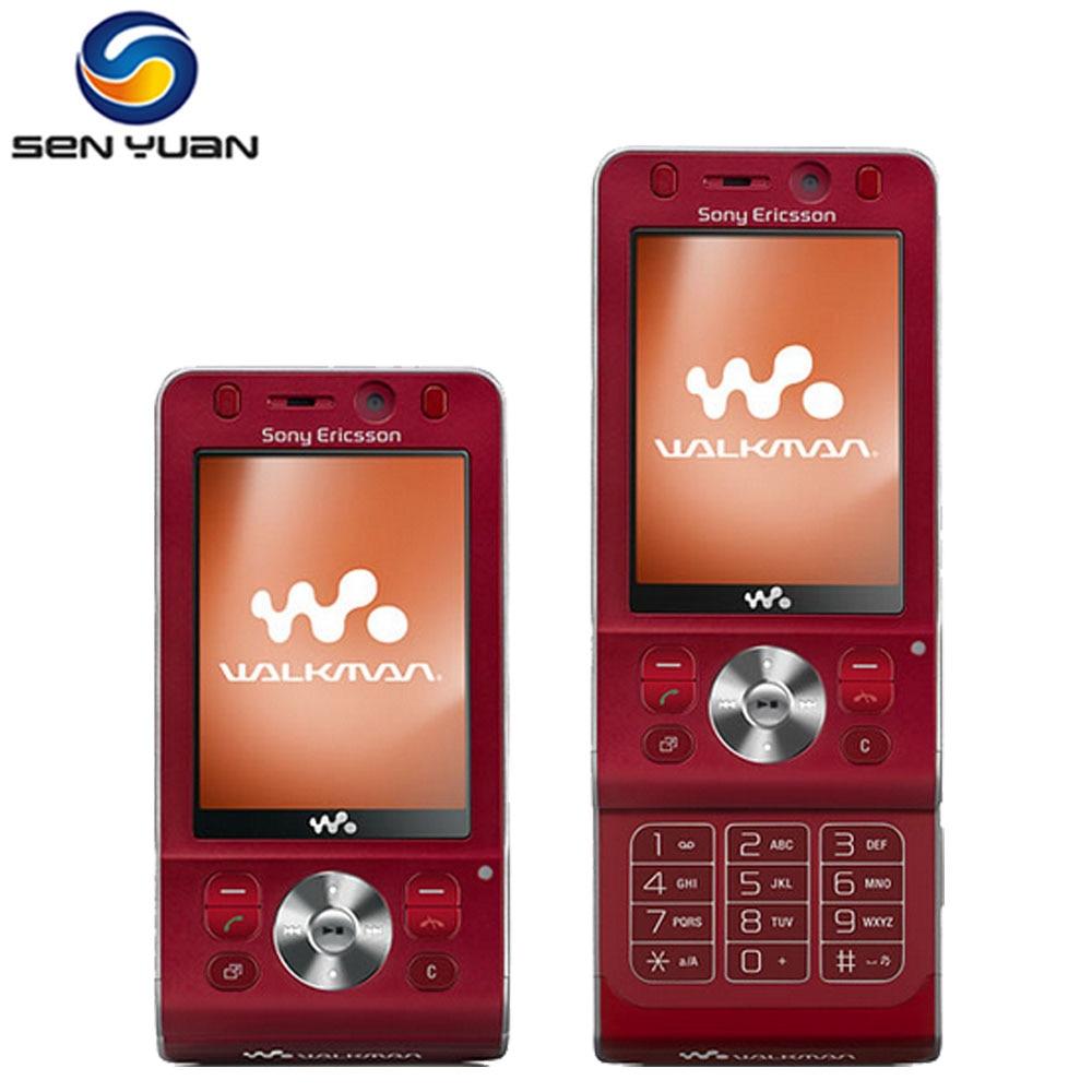 Original Sony Ericsson W910i Mobile Phone 3G Bluetooth FM Unlocked W910  Cell Phone