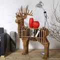 High-end Creative Wood Deer Table Furniture For Home Living Room Hotel Salon Decoration Chrtistmas Deer Europe Fashion TM001M