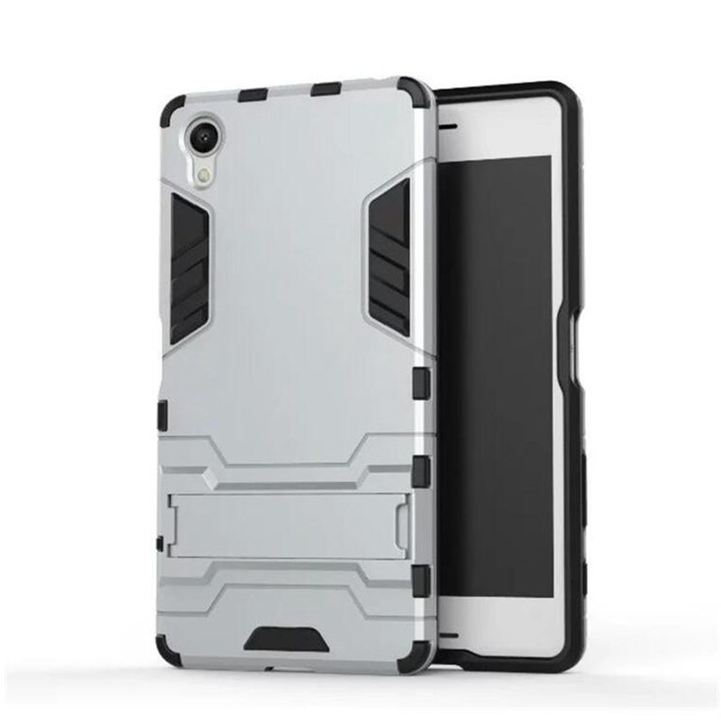 For Cover Sony Xperia X Case F5121 Dual F5122 Heavy Duty Rubber Robot Armor Hard Back Phone Case For Sony Experia X Cover fn308