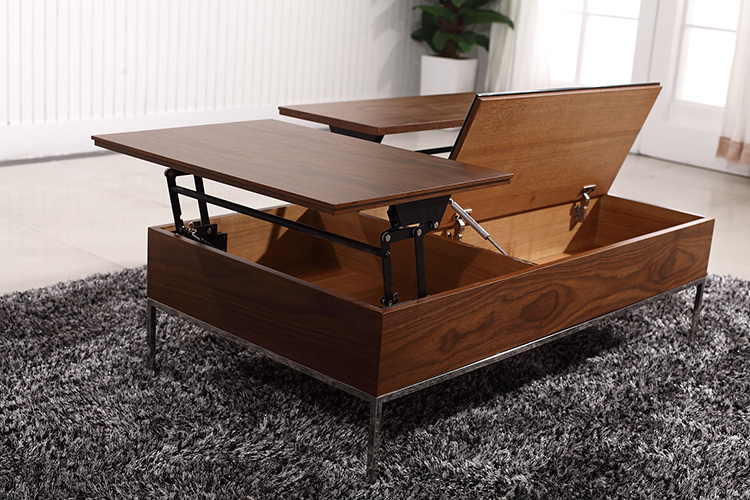 Gallery of buy lift up coffee table mechanism with gas - Table up down extensible ...