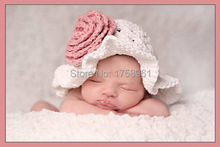 Baby girl hat, Beach hat,crochet cotton hat, photo prop, baby shower gift, swims suit, coming home outfit, fun in the sun