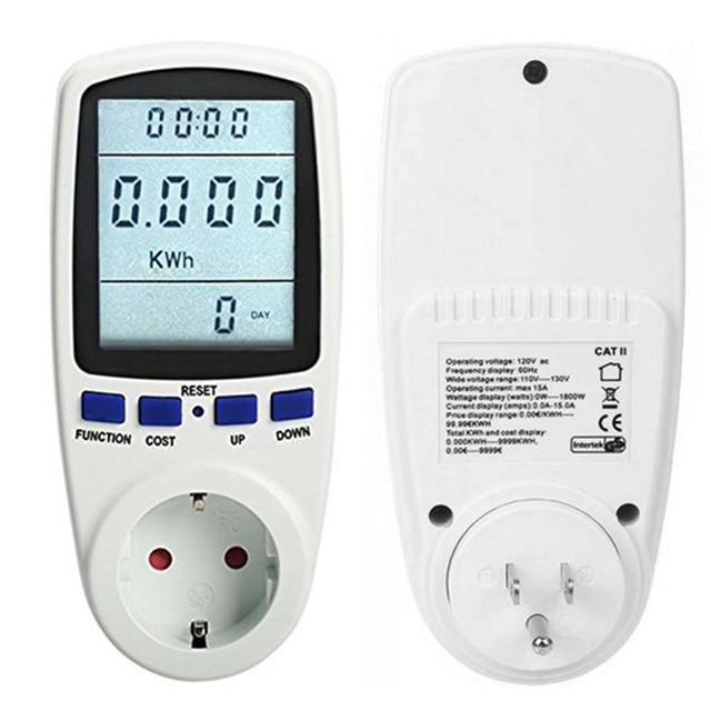 TS-836 240V 50Hz Power Energy Meter Socket