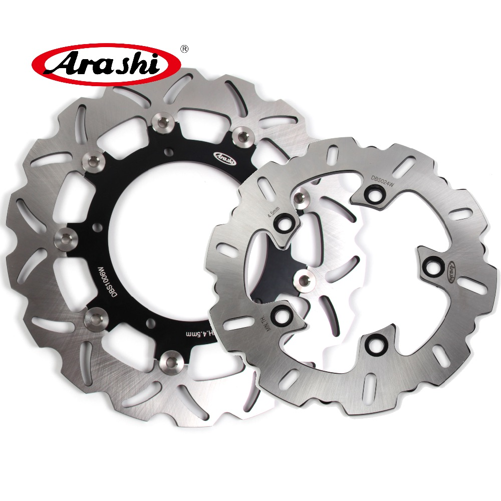 ARASHI For YAMAHA YZF R6 2003 CNC Front Rear Brake Rotors