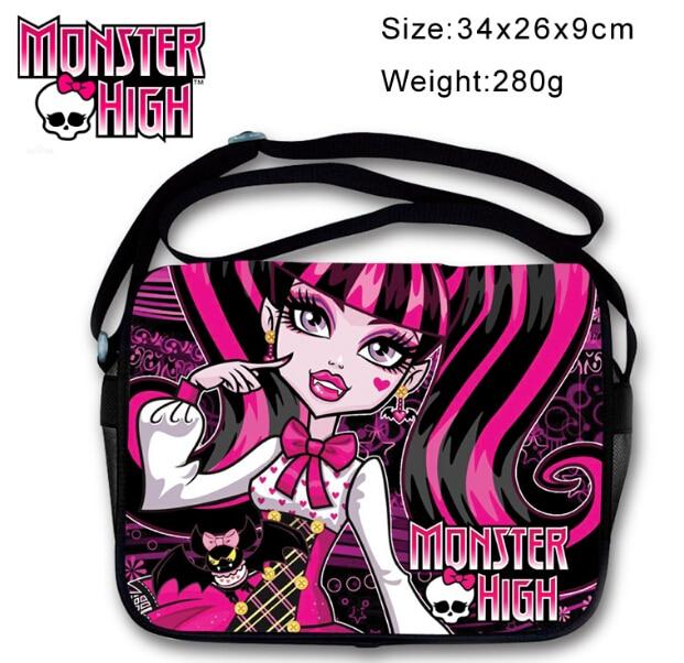 Monster High Girls School Large Backpack Bag Children Travel кукла monster high school monster high