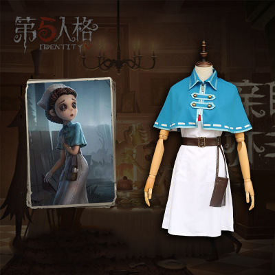 Game Identity V Emily Dyer Full Set Cosplay Costume Outfits Harajuku Costumes Halloween Party Women Cosplay Uniform Costume