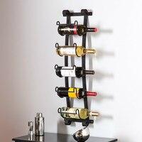Из металла винный шкаф настенный 22x10x106 см держатель вина