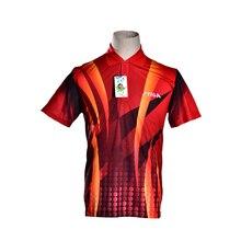 STIGA одежда для настольного тенниса Спортивная рубашка одежда для бадминтона короткий рукав униформа для мужчин Tenis Masculino