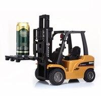 Новейший M питание, дистанционное управление вилочный погрузчик RC грузовик 1:10 8CH 50 см Большой Радиоуправляемый вилочный погрузчик модельна