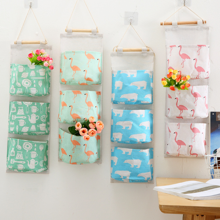 Wall Mounted Storage Bag Wardrobe Organizer Best Children's Lighting & Home Decor Online Store