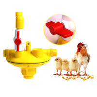 Free Shipping 1 Pcs Chicken Duck And Goose Cage Nipple Drinker Water Line New Bi Kick