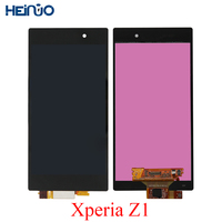 5.0'' Original LCD TELA For SONY Xperia Z1 Display Touch Screen+Frame For SONY Xperia Z1 L39 L39H C6902 C6903 C6906 Parts