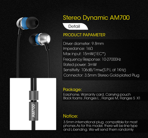 Image 3 - Astrotec AM700 Dynamic Stereo HiFi In ear Earphone 3.5mm Headset Earphones for iphone Huawei VGP 2015 SUMMER