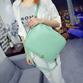 Woman Backpack Girl Leather Top Backpacks Bags 5 color Fashion Student Travel Laptop Bags Mance Valentine's Day Gift mochilas *
