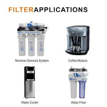 Reverse Osmosis System Replacement Filters Inline Post Silver Carbon filter remove chlorine,bad taste&anti-bacteria(4pcs/lot)