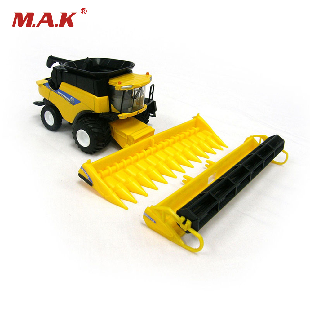 New holland cr960 combine harvester 13595 1 64 scale yellow alloy abs agricultural vehicles - Moissonneuse cars ...