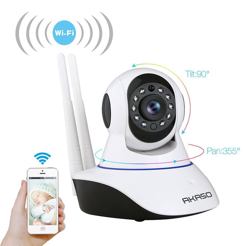 AKASO IP1M 901 720P HD Wireless WIFI camera HD Wireless Digital Security Audio Night Vision