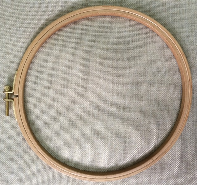 ᐂDia18cm madera redonda Bordado aro aros de madera Bordado Marcos ...