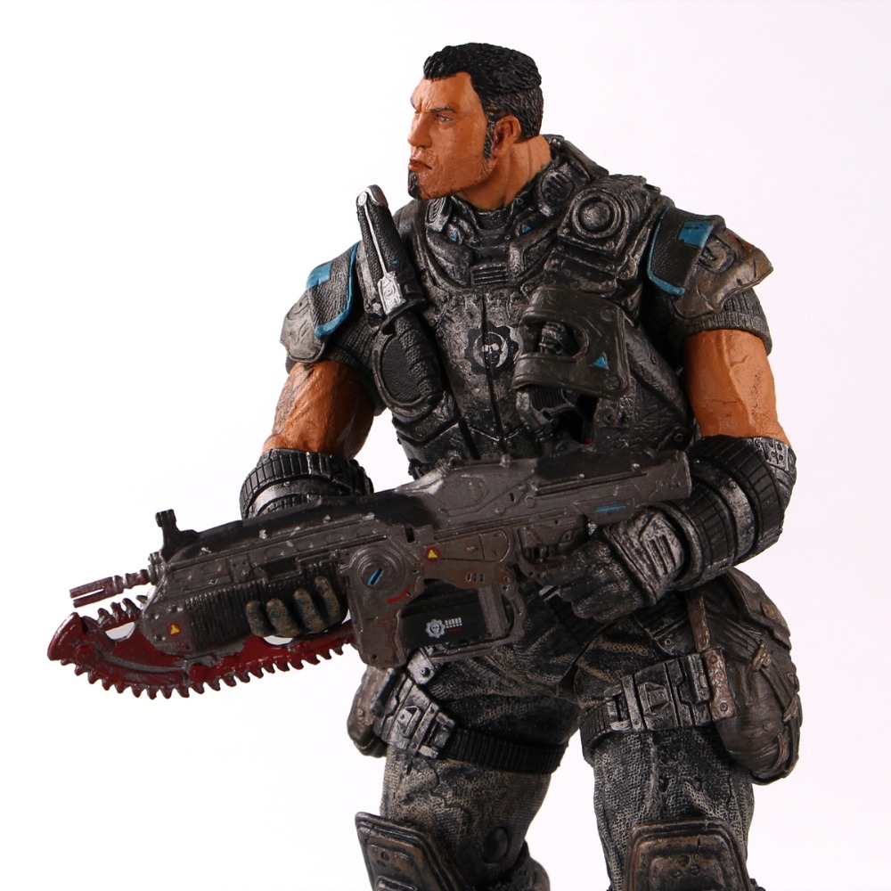 NECA GEARS OF WAR 2 Action Figures boys hobby toys games collectable 7DominicSantiago Figures are