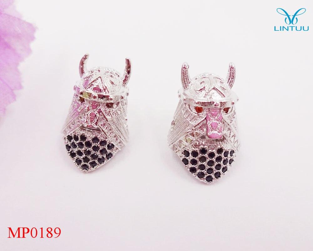 d0086c2c3 4 اللون! الأزياء مايكرو تمهيد الزركون الاكسسوارات الجمجمة الخرزة النحاس  الخرز والمجوهرات صنع الخرز سحر لصنع المجوهرات قطرة