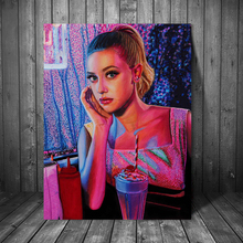 Riverdale Betty Cooper Lili Reinhart Canvas Painting Print Living Room Home Decor Modern Wall Art Oil Poster Pictures