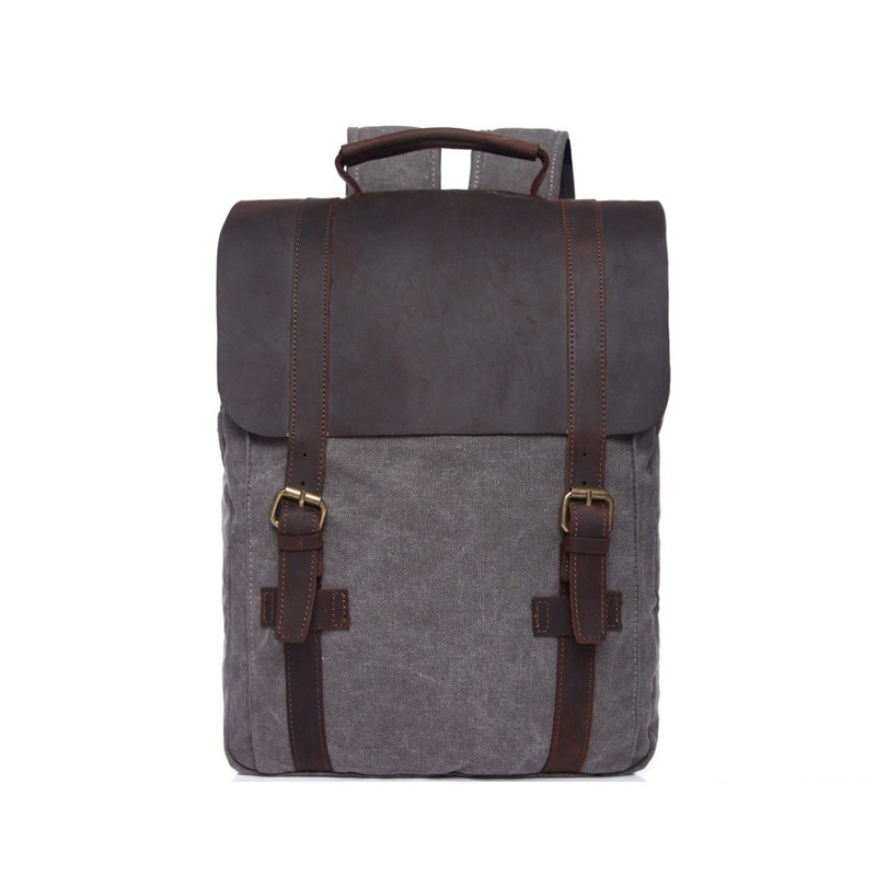 032518 new hot high quality man canvas vintage backpack student school bag032518 new hot high quality man canvas vintage backpack student school bag