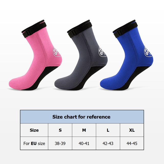 3.5mm Neoprene Diving And Beach Socks