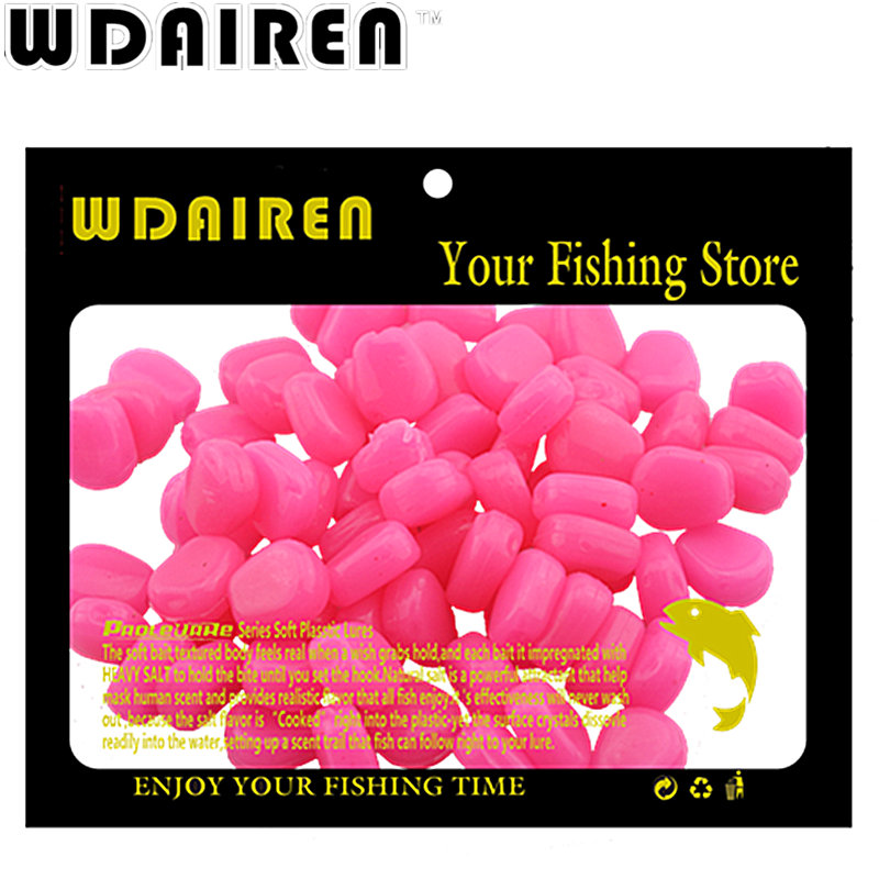 HOT Sell 100pcs carp fishing corn bait 5 colors Soft Baits Simulation Corn soft Fishing Lure Tackles with Strong Corn Smell 1 pack clean dry maggots for fishing high protein nutritious fish bait food winter carp fishing baits