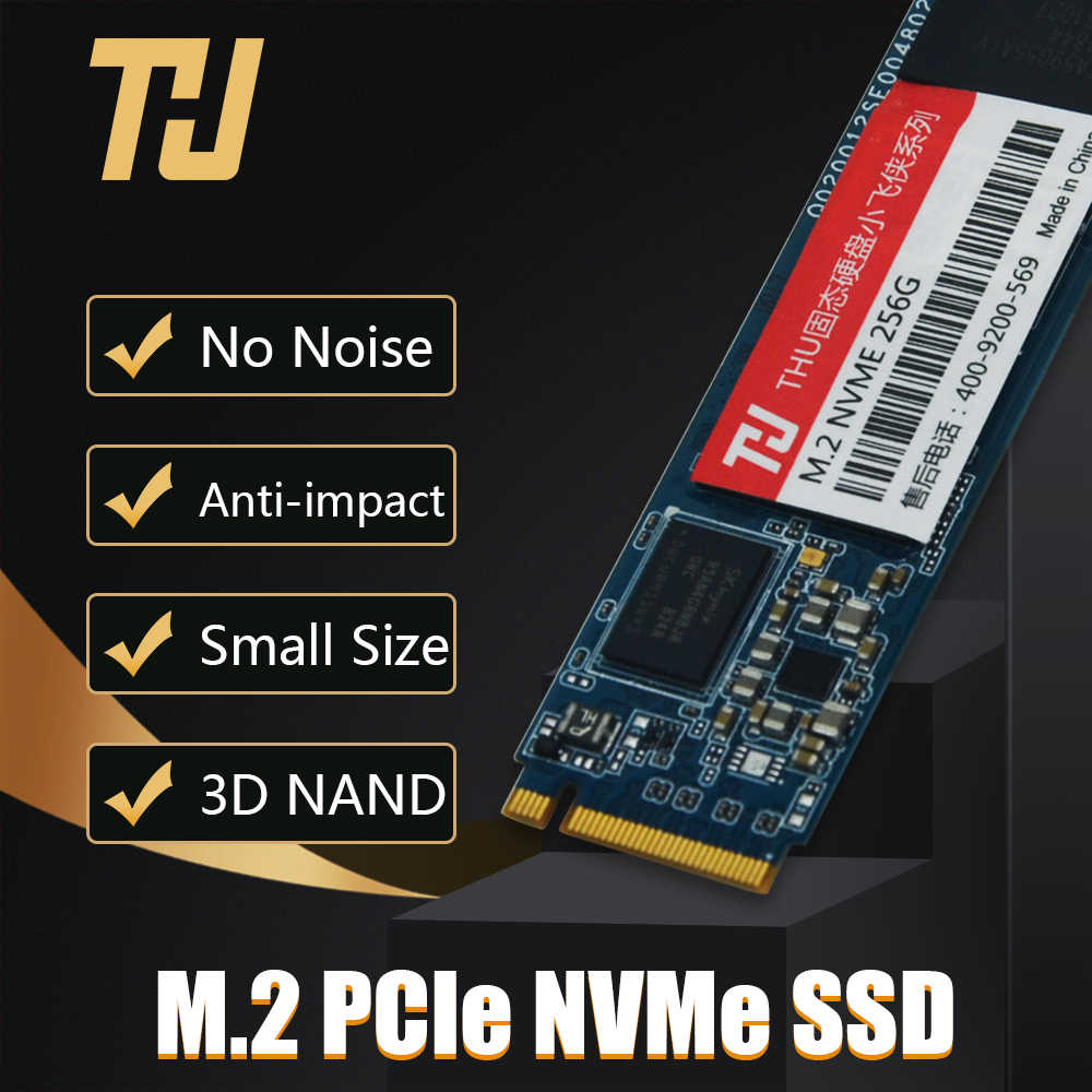 THU 256GB 512GB 1TB 2TB M.2 NVMe SSD PCIe 2280 PCIe NVMe TLC Internal SSD Disk for Laptop Desktop Solid State Disk