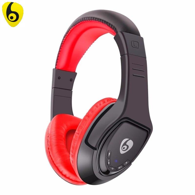 OVLENG MX333 Wireless Bluetooth Headphone Foldable Stereo 4.1 Headset Handsfree Headband Music Player for iPhone iPad iPod