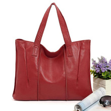 Fashion Genuine Leather Shoulder Bag Cow Handbag Bags Handbags Women Famous Brands Designer