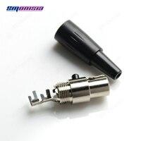 10 adet-1000 adet Mini 3 Pin Dişi XLR Soket Kablosuz mikrofonlu kulaklık Konektörü Rafine Ürün