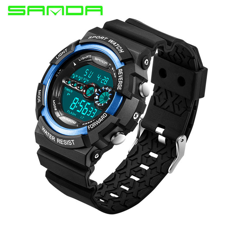 e846a517377 Sanda G Style Men Sport Watch S SHOCK Military Watch Fashion Wristwatch Men  s Sport LED