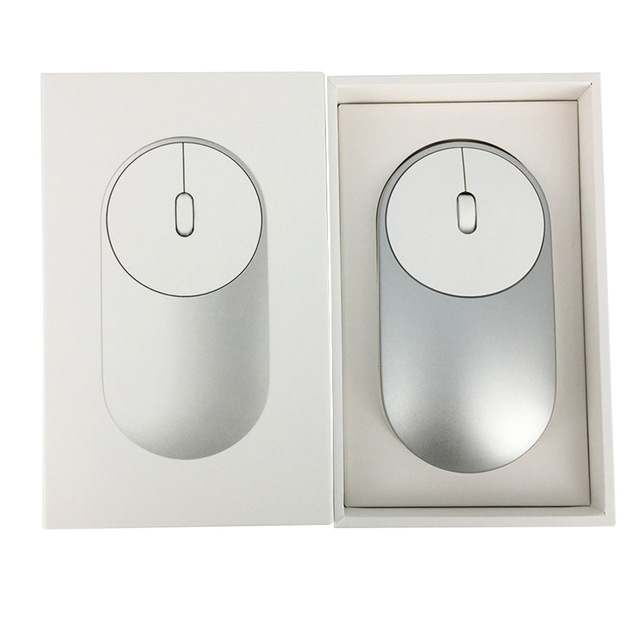 Original Xiaomi Mouse Portable Wireless In Stock Mi Mouse Optical Bluetooth 4.0 RF 2.4GHz Dual Mode Connect Mi 1200DPI XMSB01MW