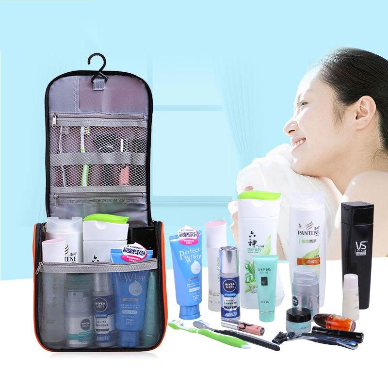 Travelsky Mode Tote Waszakken Nylon toilettas voor dagelijkse - Home opslag en organisatie - Foto 2