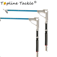 Topline Tackle Automatic Fishing Rod High Quality Fish Pole 2.1m 2.4m 2.7m Sea River Lake Stainless Steel Spinning Rod